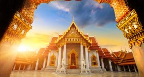 A temple in Bangkok – Shutterstock
