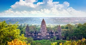 A marathon through Angkor Wat in Cambodia – Shutterstock