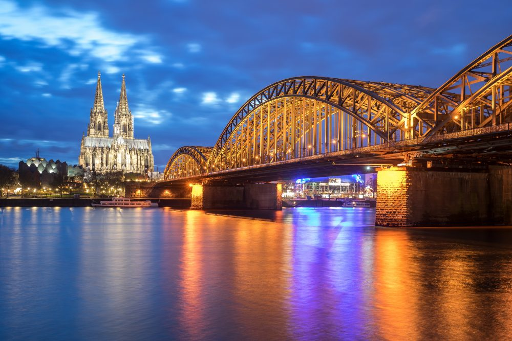 Cologne is the oldest city in Germany and the Ice Hockey is there – Shutterstock