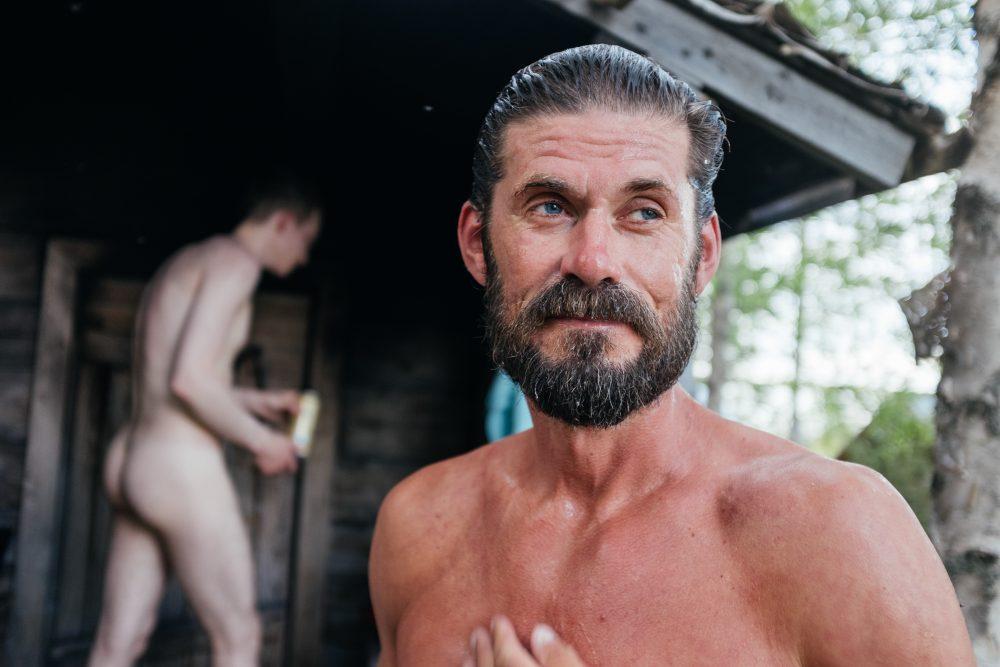 Tommi Korpela, a Finnish actor, has a sauna – Antti Yrjönen / MSFF 2016 Midnight Sun Film Festival