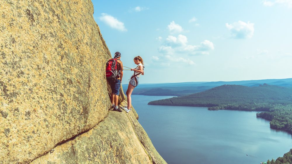 The climbing in Burabay is thrilling – Ben Finch Expo