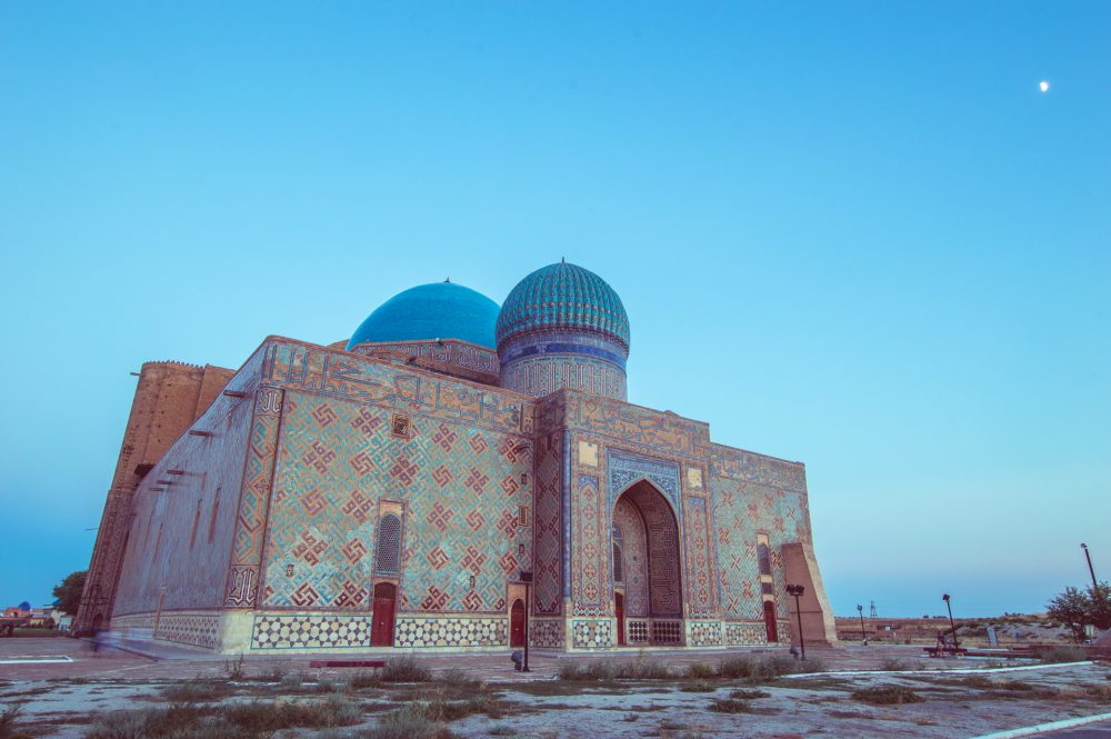 The Mausoleum of Khoja Ahmed Yasawi in Turkestan – Ben Finch Expo