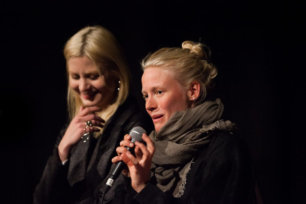 Malin Buska and Laura Birn take part in a panel discussion at last years festival – Jonne Sippola / MSFF 2016 Midnight Sun Film Festival