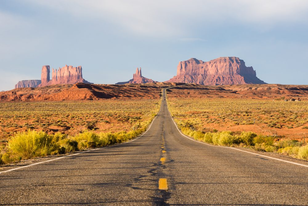 Willie Nelson's On The Road Again is about going where the wind takes you – Shutterstock musical