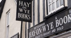 Hay-on-Wye, home of the world's second hand book trade – David Muscroft / Shutterstock.com Hay