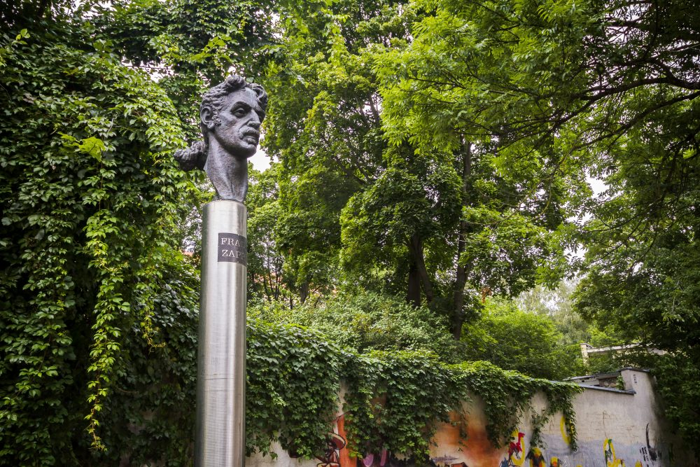Zappa was a hero in the communist states of eastern Europe – Taigi / Shutterstock monuments