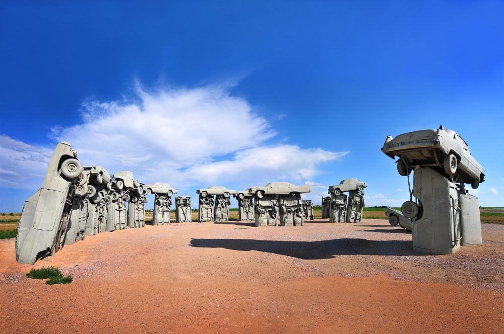 Carhenge in the United States is mildly interesting – Edwin Verin / Shutterstock monuments