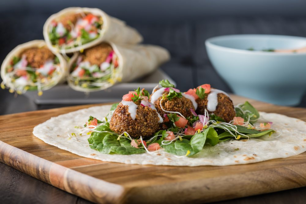 Falafel wraps are easily some of the best food around – Shutterstock vegetarian