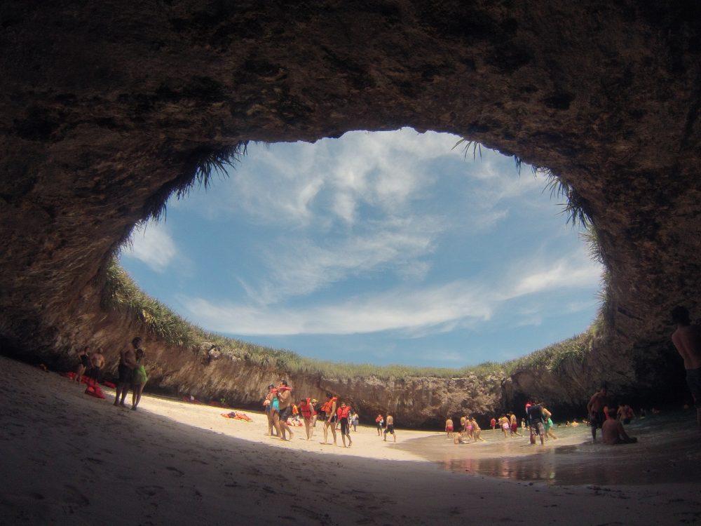 Lovers' beach on the Islas Marietas, Mexico – Shutterstock