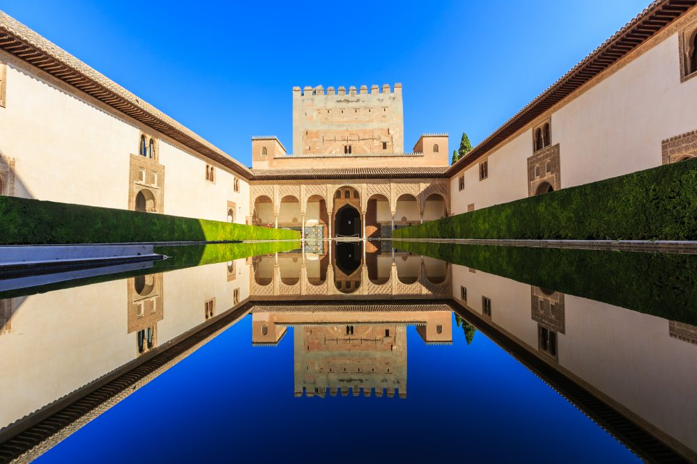 Granada, an majestic medieval city, can be found on the Iberian peninsula – Shutterstock foul-ups
