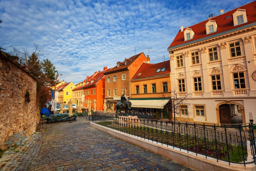 Zagreb is ancient and quiet – the perfect place for a beer and book – Shutterstock