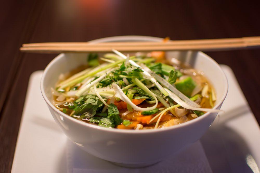 Pho is a delicious noodle soup – Shutterstock