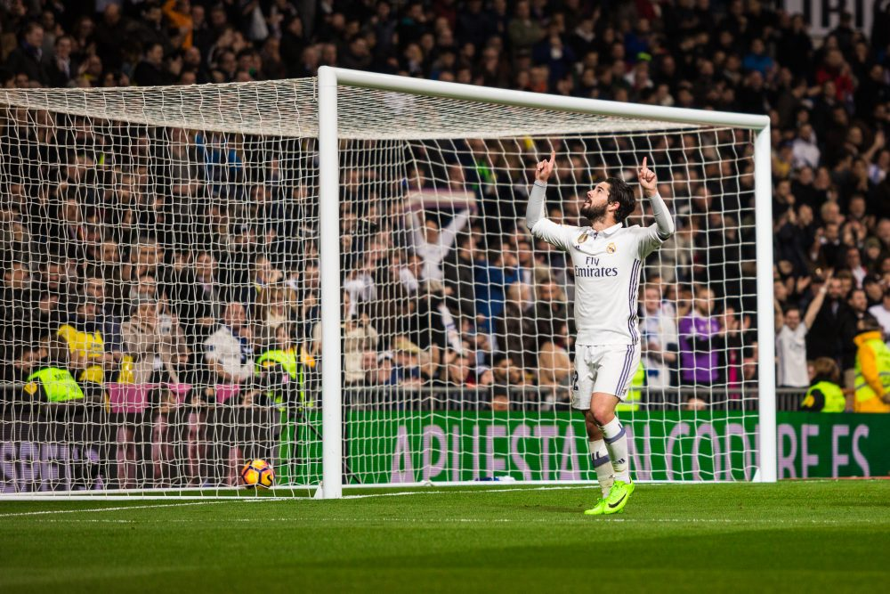 Alarcon Isco scored the winner for Real Madrid in the thriller against Atletico – Victor Torres / Shutterstock Cardiff