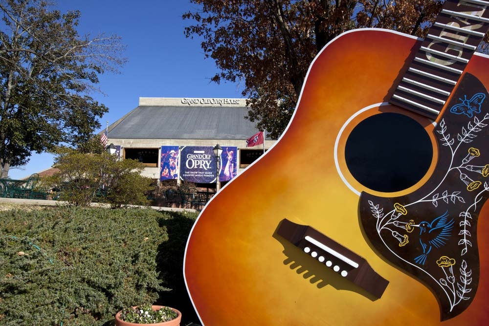 The Grand Ole Opry was founded as the stage for a radio station's barn dance in the twenties – Aceshot1 / Shutterstock
