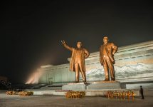 Located in the very heart of Pyongyang are two 22-metre-high bronze statues of Kim Il-sung, the supreme leader of North Korea until his death in 1994, and Kim Jong-Il, who ruled until his death in 2011. It is called the Mansudae Grand Monument. If you want to take pictures of the statues, it is illegal to only include part or parts of the statues. You must fit the whole statue in the picture – Tommy Nilsson North Korea