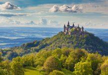 Hohenzollern Castle in Germany – Shutterstock castles