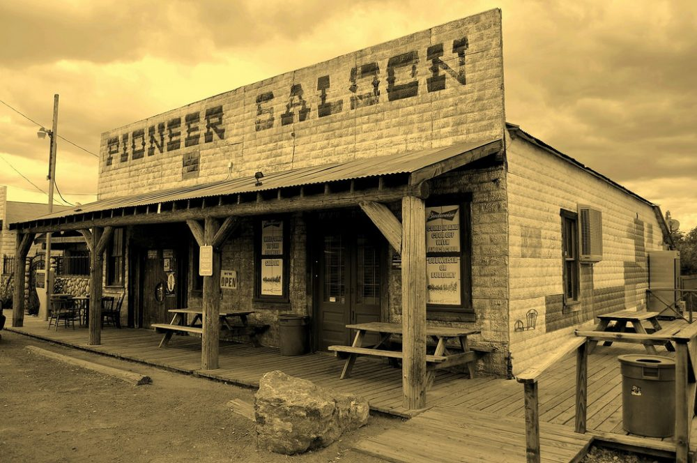 The Pioneer Saloon in Goodsprings  is the oldes saloon in Nevada and it was featured in Fallout - Luca Venturi / Flickr Las Vegas