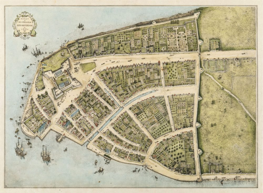 Plan of New Amsterdam - Wikipedia change names