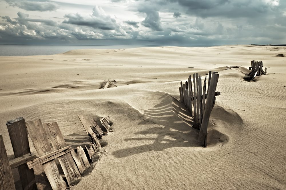 Curonian Spit attracts tourists mostly for its magnificent dunes - Shutterstock