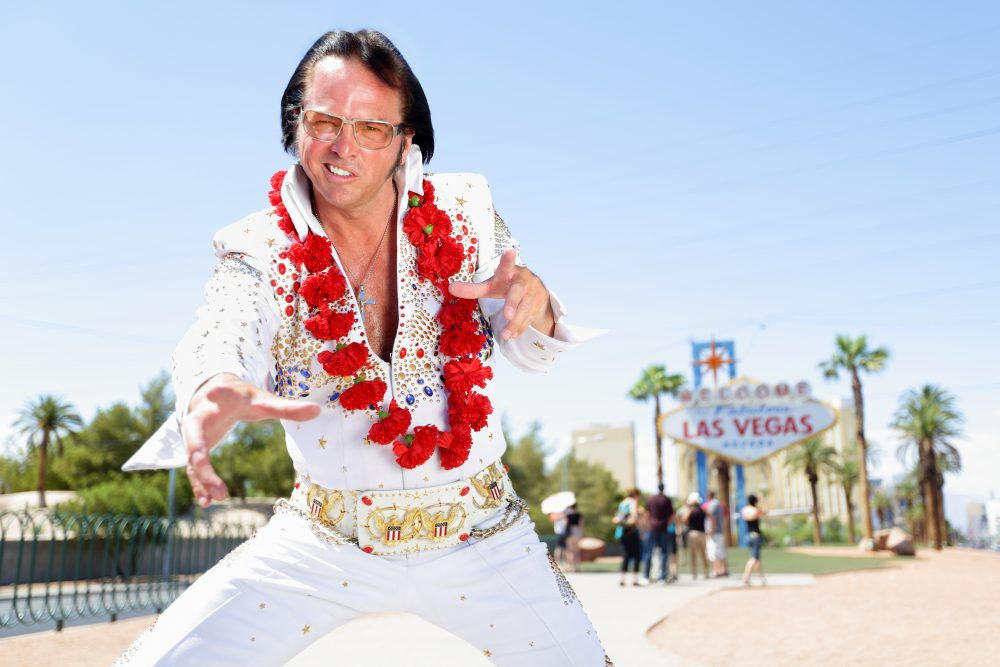 Go big or go home. Shows in Las Vegas are quite the spectale. But it can never miss a good Elvis impersonator - Maridav / Shutterstock