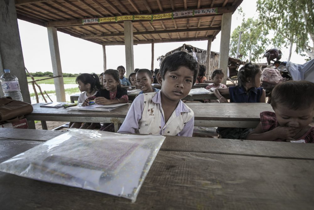 Jerome taught in schools in Cambodia while travelling through Asia - Kenny CMK / Shutterstoc
