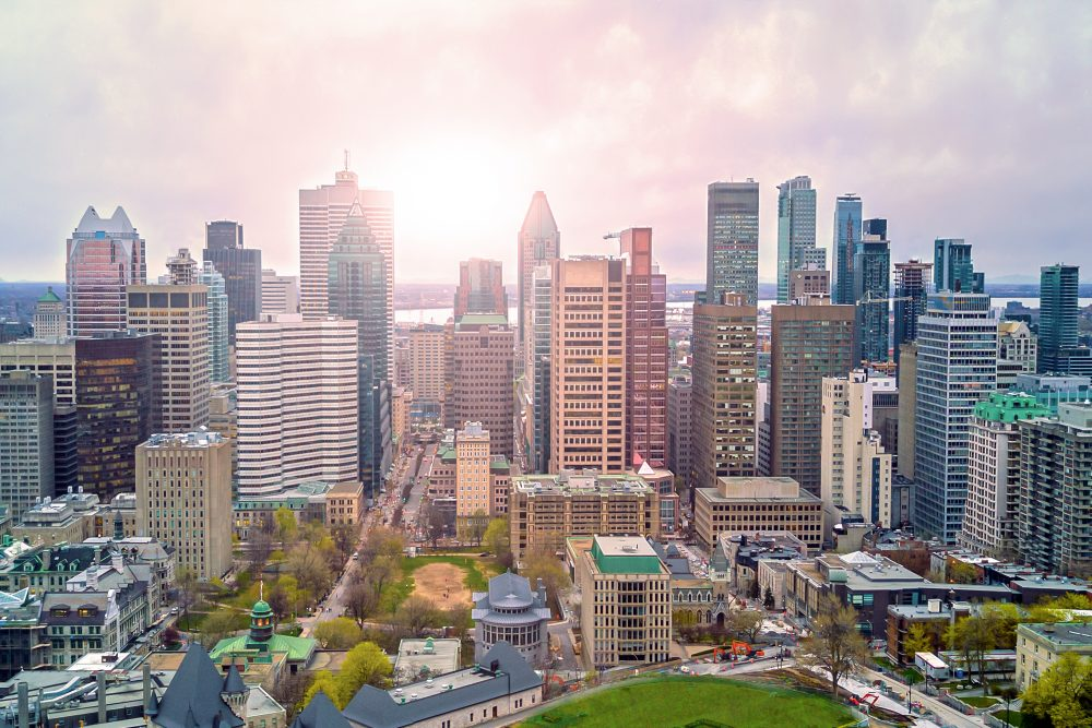 Montreal is often compared to New York City Shutterstock Quebec