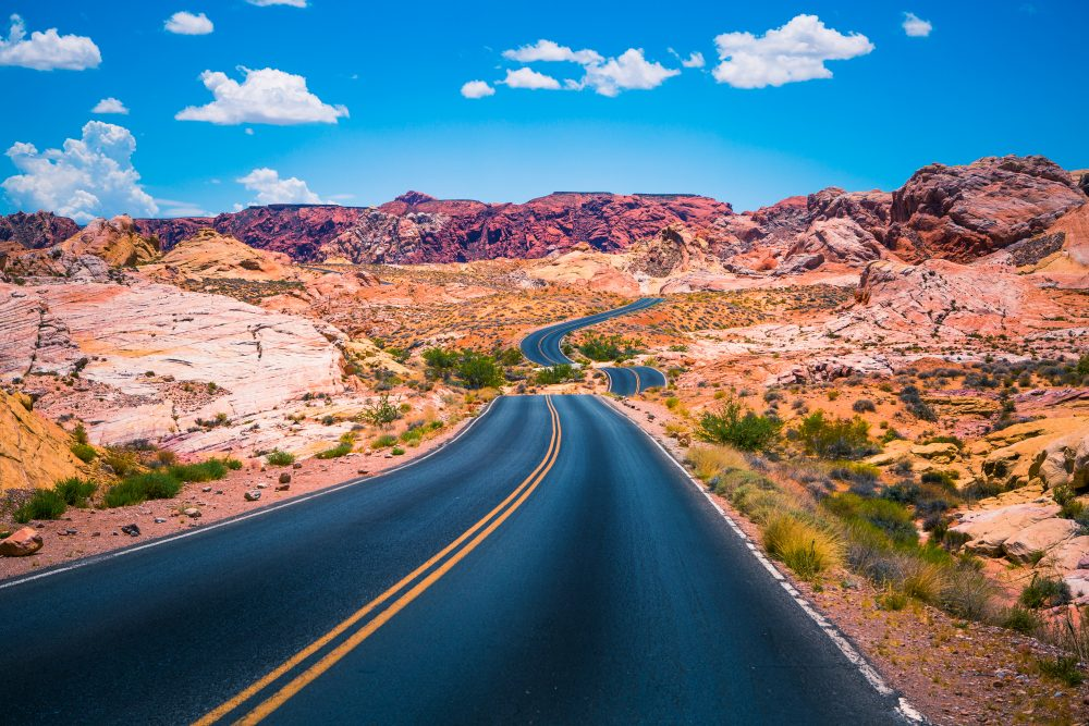 Take the time to go through the majestic Valley of Fire - Shutterstock Las Vegas