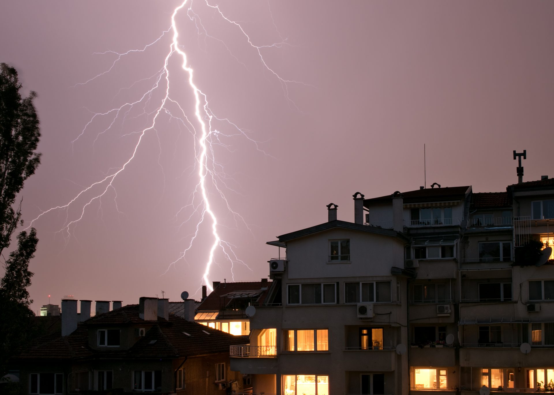 Storms and lightnings in Sofia may appear apocalyptic  - Shutterstock