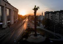 Saint Sofia Statue in downtown Sofia , Bulgaria - Shutterstock