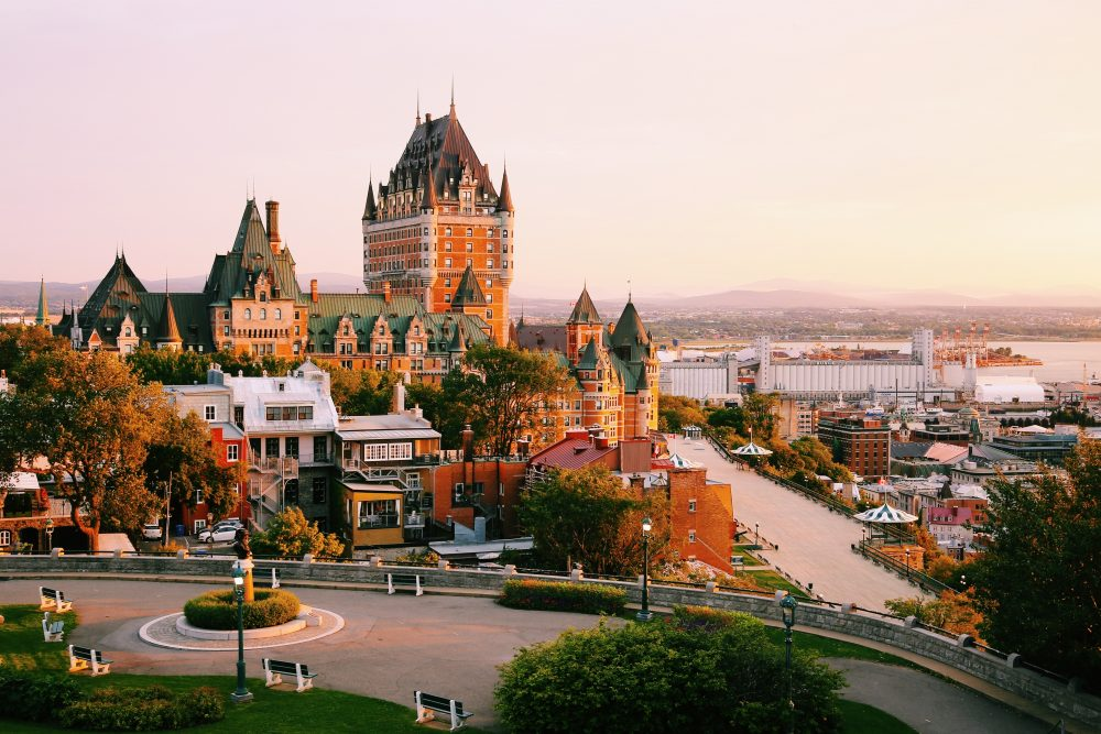 Quebec City to Montreal is like Edinburgh to London - Shutterstock Quebec