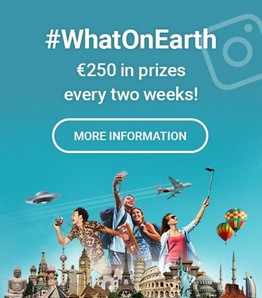 #WhatOnEarth - €250 in prizes every two weeks!