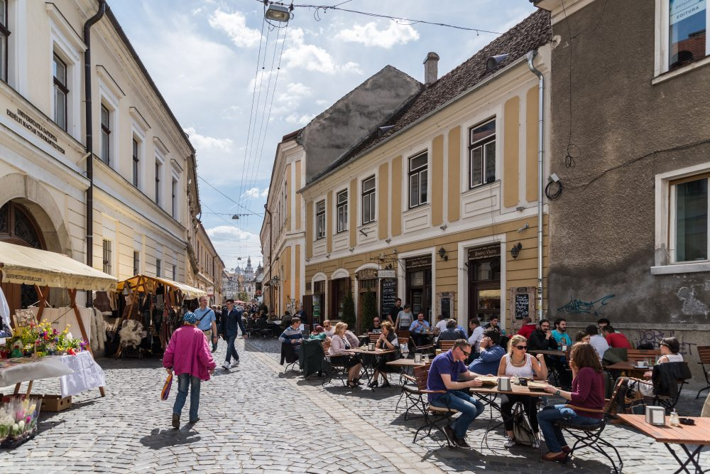 Cluj Napoca was chosen as the European Youth capital in 2015. Local Morning Glory IPA is one of new Europe's best beers - Radu Bercan / Shutterstock beer