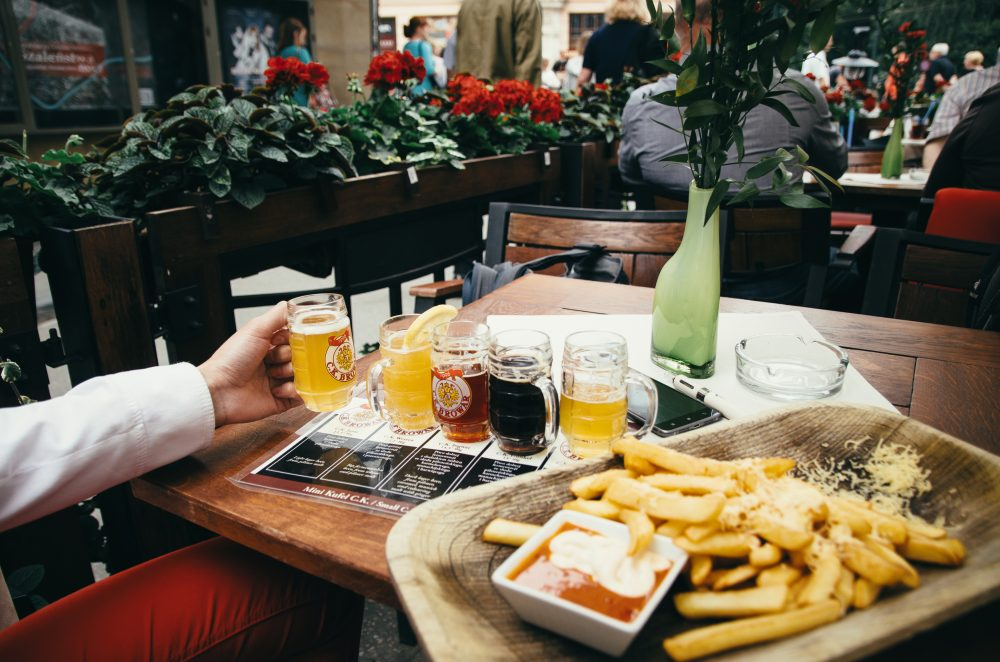There is why beering in Krakow might be a cliche. The microbrewering industry is growing fast there -  Andrei Bortnikau / Shutterstock