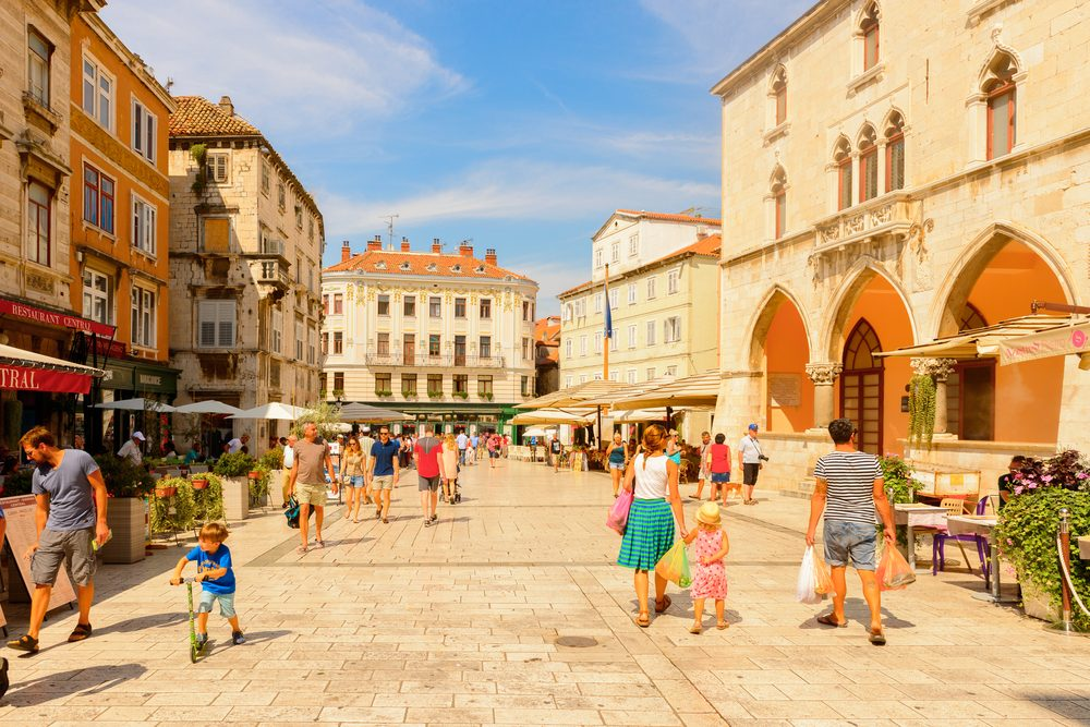 Getting lost in the beautiful streets of Split can be rather convenient - Anton_Ivanov / Shutterstock
