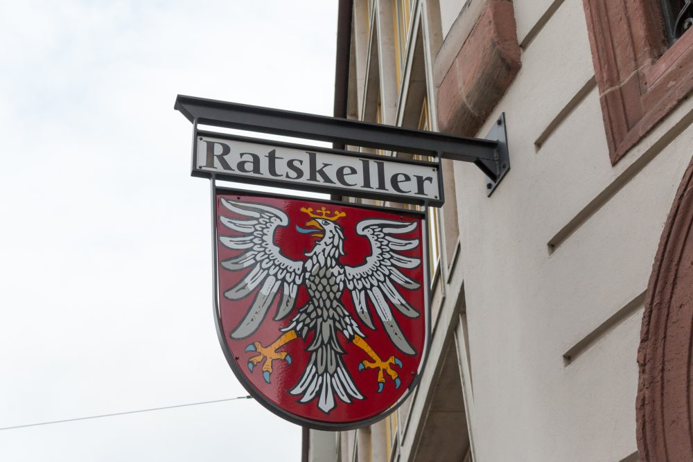 Traditional German large bars in a basement are called Ratskeller  - jremes84 / Shutterstock.