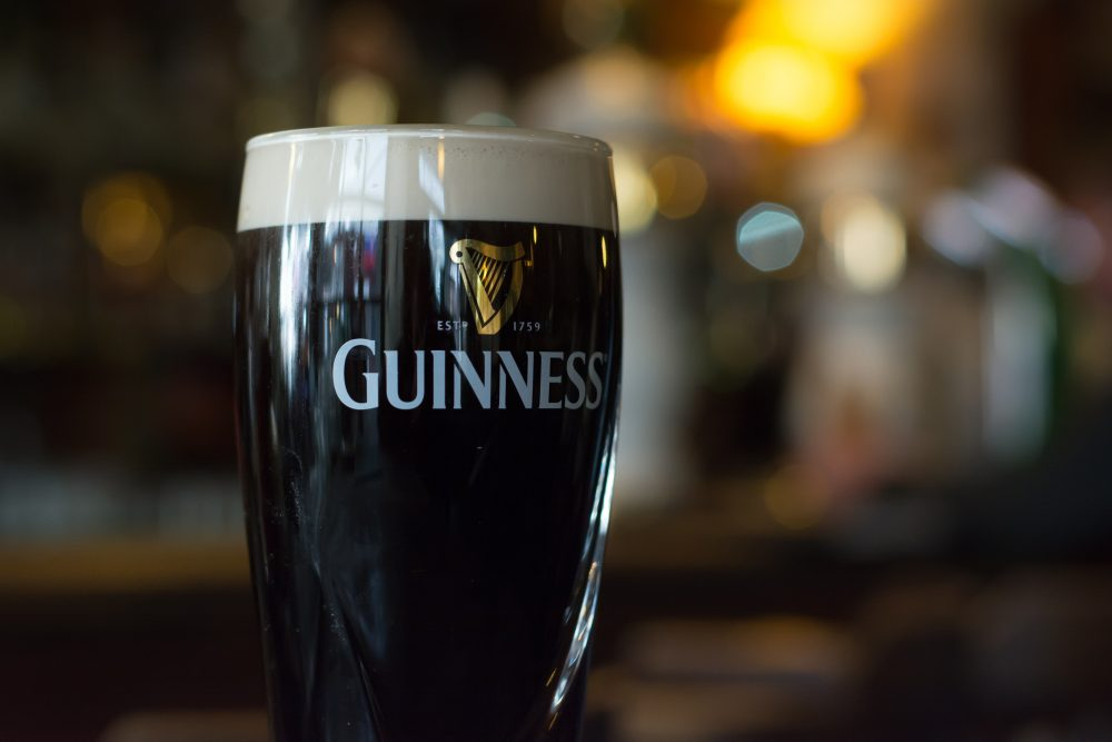 The classic stout like Guiness still dominates Ireland. Yet the competition from the UK and Europe is rising - Frantisekf / Shutterstock