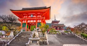 Kyomizu Buddhist temple