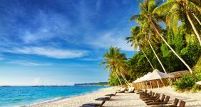 The white talcum-like sand on the Boracay's beaches is one of its kind — Shutterstock