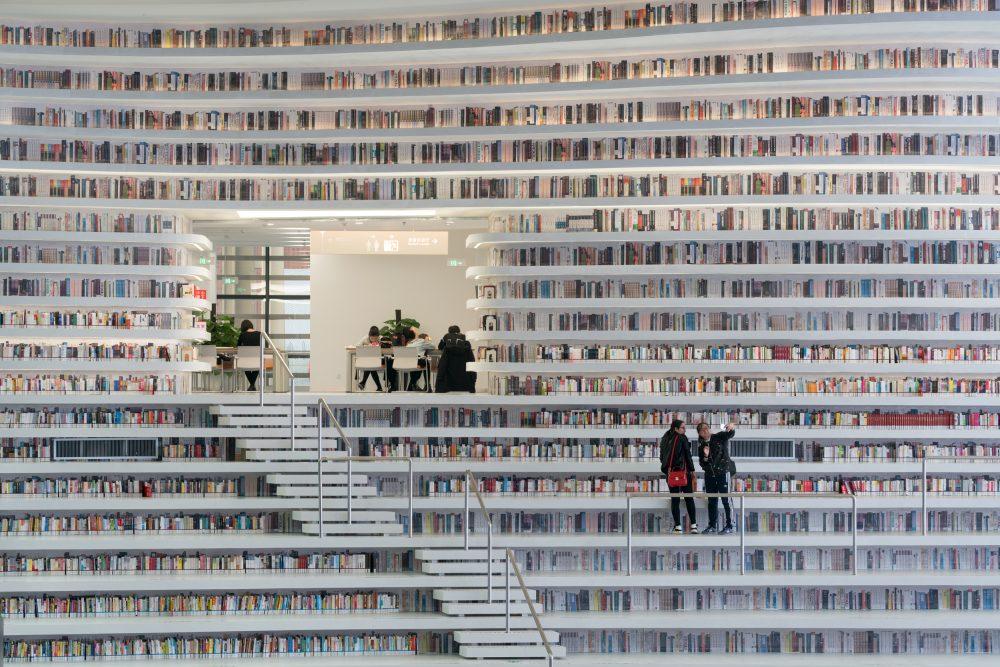 Tianjin Library – Ossip van Duivenbode