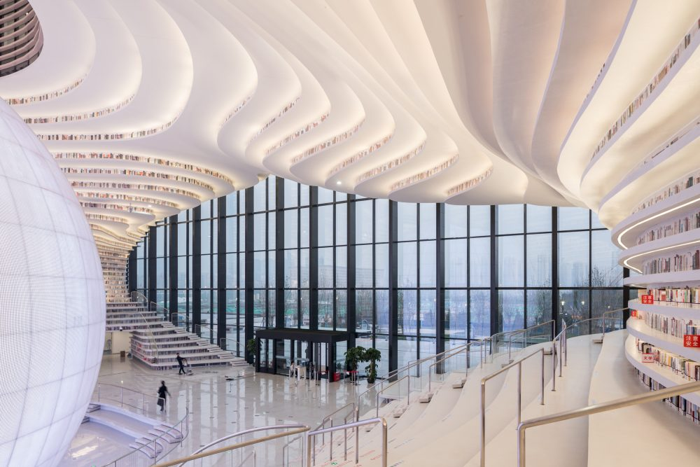 Tianjin's new library will hold 1.2 million books – Tianjin Library – Ossip van Duivenbode