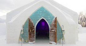 Ice hotel in Quebec City catches fire forcing the management to evacuate the premises and close temporarily —serkan senturk / Shutterstock