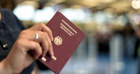 German passport is the most powerful in the world — Shutterstock passport index