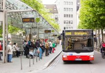 Bonn is one of five German cities that will fight air pollution with free public transport — William Perugini / Shutterstock