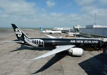 Air New Zealand to chicago — ChameleonsEye / Shutterstock