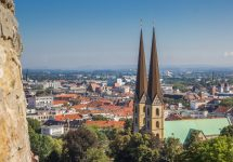 The German city of Bielefeld is at the centre of a conspiracy theory – Shutterstock Bielefeld conspiracy