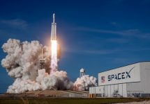 Mars-bound rocket SpaceX Los Angeles