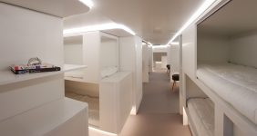 Airbus has entered a parthership with Zodiac Aerospace to develop lower-deck sleeping facilities — Airbus beds