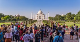 Authorities have implemented another measurement against overtourism at Taj Mahal by limiting the time to three hours — Damian Pankowiec / Shutterstock