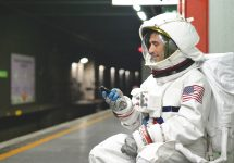 space nation app astronaut training — Shutterstock