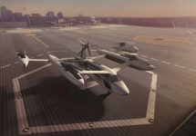 The aircraft looking like a mashup of a helicopter and a plane shoud reach the speed between 240 and 320 k mh — Uber Uber one step closer to launch flying taxi service